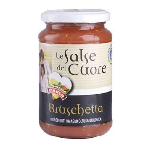 "BIO tomātu mērce ""Bruschetta"", 340 gr"