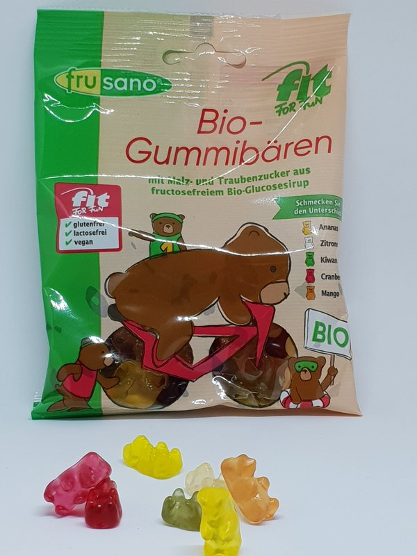 "Bio gumijlācīši ""Fit for Fun"", 100gr."