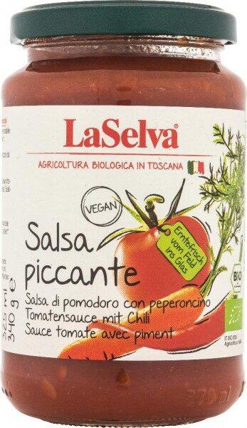 BIO tomātu mērce pikanta, 340gr