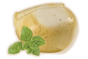 Kūpināta bifeļmātes piena mocarella PROVOLA, 250gr