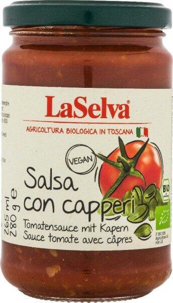 BIO tomātu mērce ar kaperiem, 280gr / JAUNUMS/