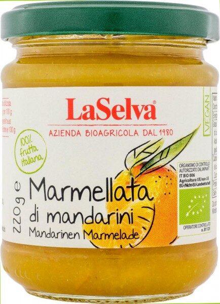 BIO mandarīnu džems, 220gr