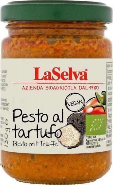BIO tomātu pesto ar trifelēm, 130gr