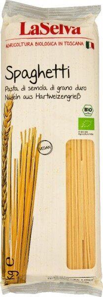 """BIO pasta """"Spaghetti"""", 1kg /JAUNUMS/"""