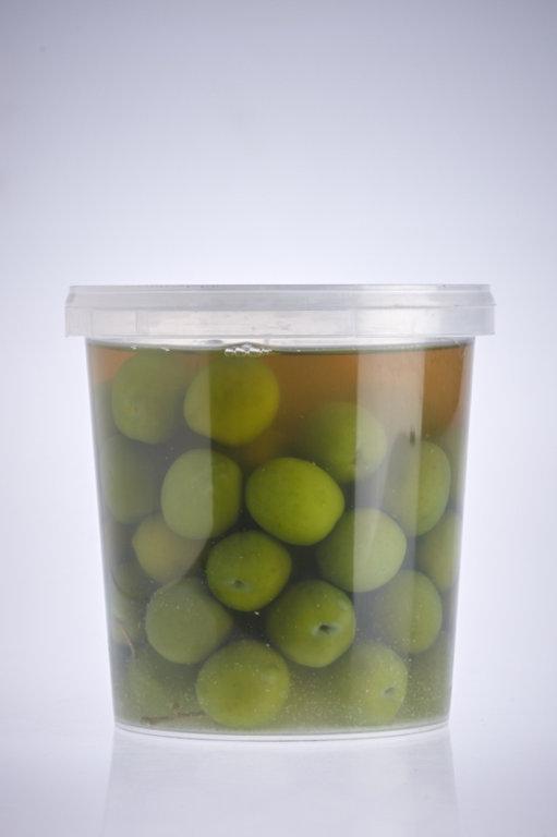 Maigās, zaļās olīvas, 500 gr
